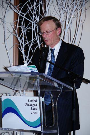 Robert Hobson family donated 250000 to central okanagan land trust